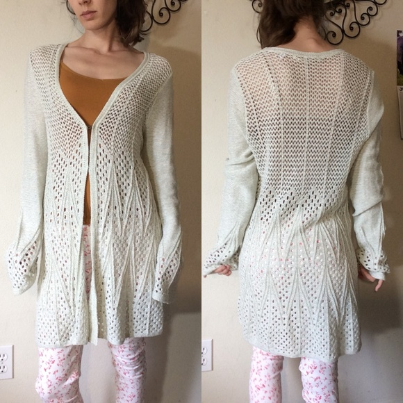 Anthropologie Sweaters - Anthropologie Knitted & Knotted Maxi Cardigan